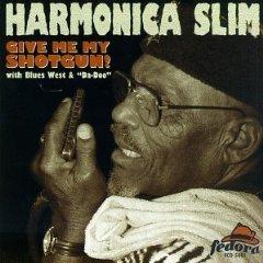 harmonica slim - give me my shotgun! CD 1997 fedora records used mint