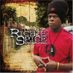 richie spice - in the streets to africa CD & DVD limited edition 2007 VP used mint