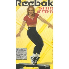 reebok - the best of step TV with gin miller VHS 1997 BMG reebok used mint