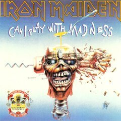 iron maiden - can i play with madness CD 1990 EMI UK used mint