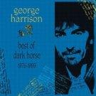 george harrison - best of dark horse 1976 - 1989 CD 1989 warner used very good