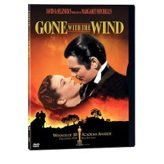 gone with the wind DVD 1999 warner turner used mint