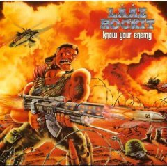laaz rockit - know your enemy CD old metal records 11 tracks used mint