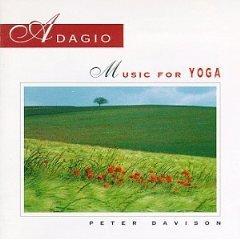 peter davison - adagio music for yoga CD healing arts 10 tracks used mint