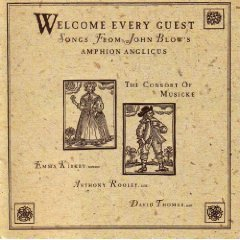 welcome every guest - songs from john blow's amphon anglicus CD 1987 elektra nonesuch used mint