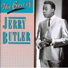 jerry butler - the best of jerry butler CD 1987 rhino used mint