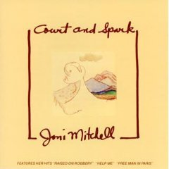 joni mitchell - court and spark CD 1974 asylum made in w germany used mint