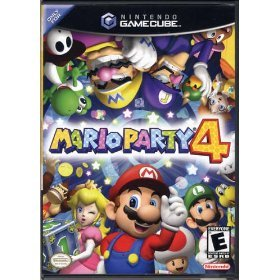 mario party 4 - 2002 nintendo game cube ESRB everyone used mint
