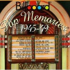 billboard pop memories 1945 - 49 CD 1994 rhino used mint