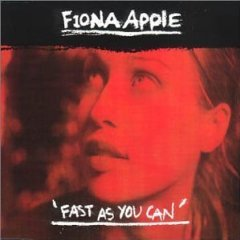 fiona apple - fast as you can CD single 3 tracks 2000 sony used mint