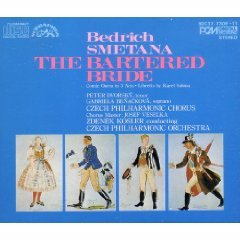 bedrich smetana - the bartered bride CD 3-disc box 1982 supraphon japan used mint