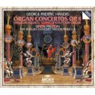 handel - organ concertos op.4 - preston holliger pinnock CD 2-discs 1984 polydor germany used mint