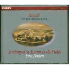 handel - 12 concerti grossi op.6 - Iona brown CD 3-disc box 1983 polygram germany mint