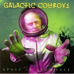 galactic cowboys - space in your face CD 1993 geffen used mint