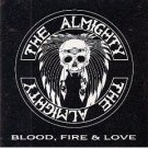 the almighty - blood fire & love CD 1989 polygram 11 tracks used mint