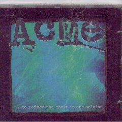 acme - ... to reduce the choir to one solist CD 1996 edison recordings used mint