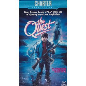 the quest starring Henry Thomas and Tony Barry VHS 1986 charter used