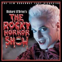 richard o'brien's The Rocky Horror Show 2000 Broadway Revival Cast CD 2001 RCA used mint