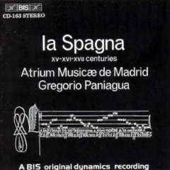 la spagna - atrium musicae de madrid - gregorio paniagua CD 1980 1986 grammofon germany mint