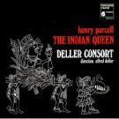 henry purcell - the indian queen - deller consort CD 1976 1992 harmonia mundi france used mint