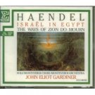 handel - israel in egypt & the ways of zion do mourn CD 2-discs 1980 erato japan mint
