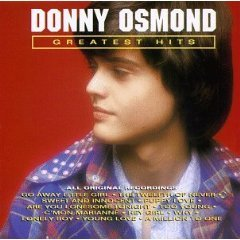 donny osmond - greatest hits Cd 1992 curb 12 tracks used mint