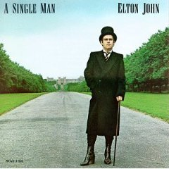 elton john - a single man CD 1978 1990 MCA used mint