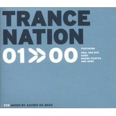 trance nation 01>>00 CD 2-discs edel media made in germany used mint