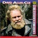 david allan coe - 20 greatest hits CD 1994 tee vee records 20 tracks used mint