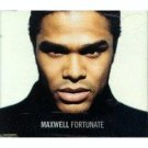 maxwell - fortunate CD single 1999 sony 2 tracks used mint