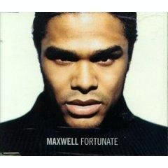 maxwell - fortunate CD single 1999 sony 2 tracks used mint