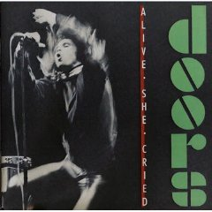 the doors - alive she cried CD 1983 elektra asylum 7 tracks used mint