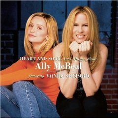 heart and soul new songs from ally mcbeal featuring vonda shephard CD 1999 sony BMG Dir. used mint