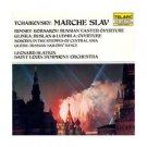 tchaikovsky marche slav - slatkin & saint louis S.O. CD 1982 telarc japan mint