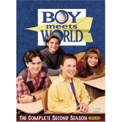 boy meets world complete second season DVD 3-discs 2004 touchstone used mint
