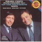 chopin piano concerto no.1 perahia NYP mehta CD 1985 CBS used mint