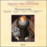 english ayres and duets - camerata of london CD 1988 hyperion UK used mint