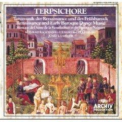 Terpsichore Renaissance Dance Music and Early Baroque Dance Music Ulsamer-Collegium CD Archiv mint
