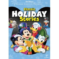 classic cartoon favorites vol.9 classic holiday stories DVD disney used mint