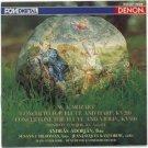 mozart concerto for flute & harp KV299 concertone for flute & violin KV190 CD