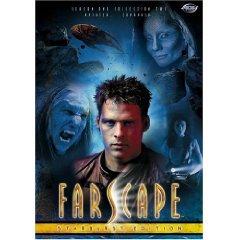 farscape season one collection two starburst edition DVD 2-discs ADV hallmark mint