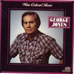 george jones - wine colored roses CD 1986 cbs epic used mint