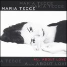 maria tecce - all about love CD 2003 divine records UK used mint
