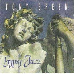 tony green - gypsy jazz CD 1996 orleans records used mint