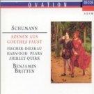 schumann - szenen aus goethes faust - britten fischer-dieskau CD 2-discs1990 decca mint