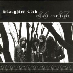slaughter lord - thrash 'til death 86 - 87 CD 1998 invictus hammerheart used mint