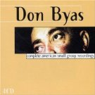 don byas - complete american small group recordings CD 4-disc box 2001 definitive disconforme new