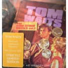 tom waits the dime store novels vol.1 live from ebbetsfield oct 8th 1974 CD 2001 NMC new