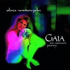 olivia newton john - gaia one woman's journey CD 1994 hip-o used
