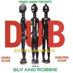dub extravaganza - uhuru in dub / osbourne in dub CD new cross records EEC used mint